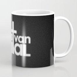 EVD Logo - Simple black Coffee Mug