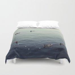 Untitled (Lake Michigan) Duvet Cover