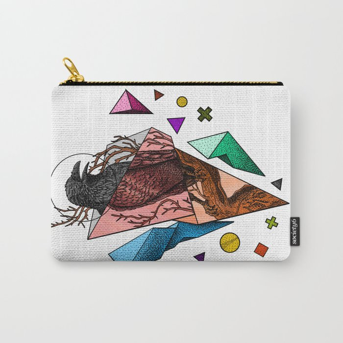 Powerful and fragile Carry-All Pouch