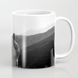 """Love on the Horizon"" Holga black and white double exposure Coffee Mug"