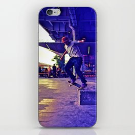 Colorful Skater iPhone Skin