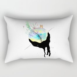 Climate change Rectangular Pillow