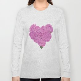 i heart roses Long Sleeve T-shirt