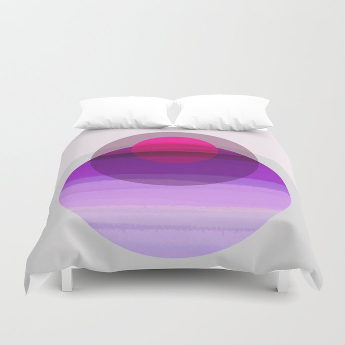 Purple C 01 Duvet Cover