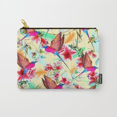 Exotic birds and flowers Carry-All Pouch