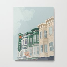A Day in San Francisco Metal Print