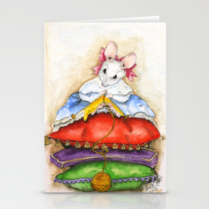 Little Miss Mouse Stationery Cards