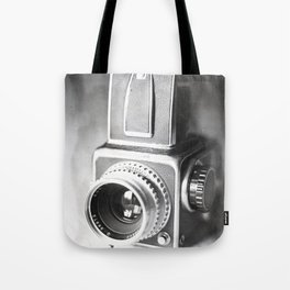 Hasselblad Camera Tintype Tote Bag