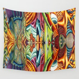 Totemic Wall Tapestry
