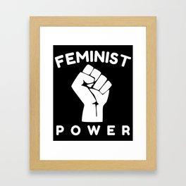 Feminist Power Framed Art Print