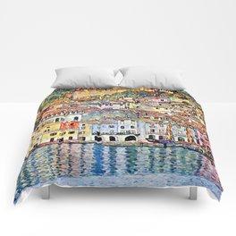 Gustav Klimt Malcesine on Lake Garda Comforters