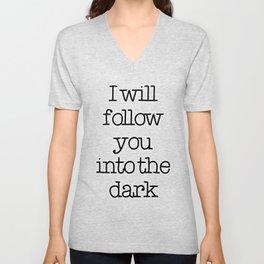 Into the dark Unisex V-Neck
