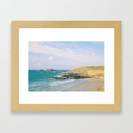 Godrevy Lighthouse, Cornwall Framed Art Print