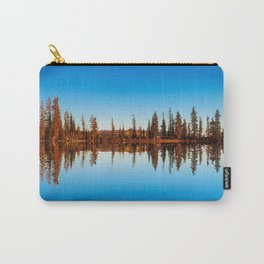 Tree reflections on water Carry-All Pouch