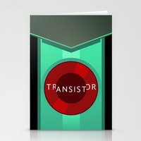 transistor Stationery Cards featuring Transistor by Spiritius