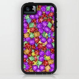 RPG Gamer Dice iPhone Case