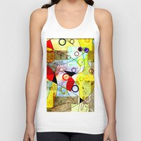 kandinsky Tank Tops featuring Without incident by Kay Weber