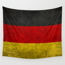 Flag of Germany - Vintage version Wall Tapestry