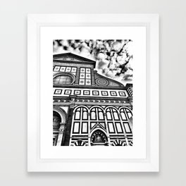 Santa Maria Novella Framed Art Print