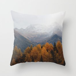 Autumn Air Throw Pillow