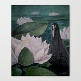The Nymph Canvas Print