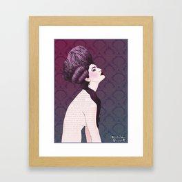 S. XVIII Framed Art Print