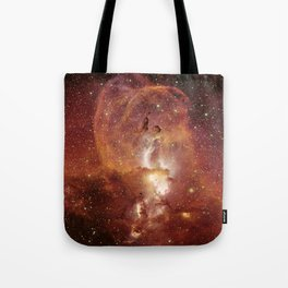Star Clusters Space Exploration Tote Bag