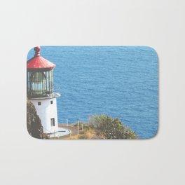 The Lighthouse's Call Bath Mat