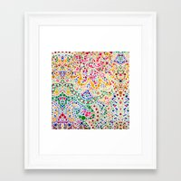 confetti Framed Art Prints featuring Confetti by Love2Snap