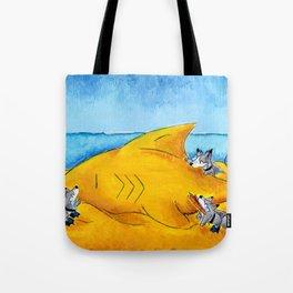 SandShark Building Tote Bag