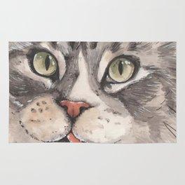 Normie the Cat - artist Ellie Hoult Rug