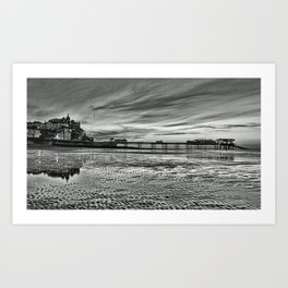 Cromer Pier in the Evening Art Print