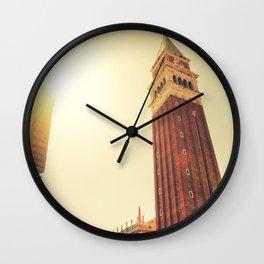 St. mark's square in venice Wall Clock