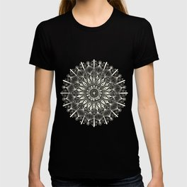 Vintage Mandala on Gold T-shirt