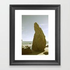 Matador Beach Framed Art Print