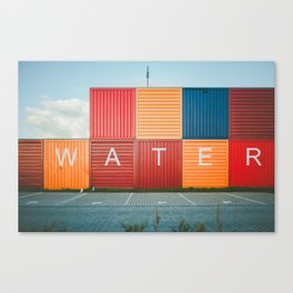 Amsterdam Noord Containers Canvas Print