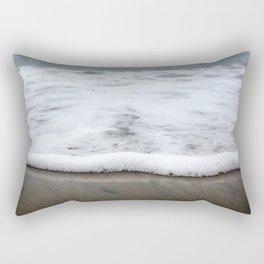 Sea Foam Blues Rectangular Pillow