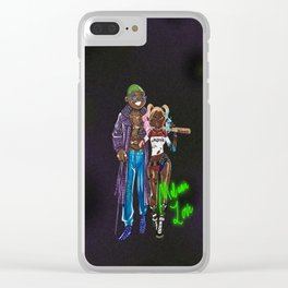 Melanin Love Clear iPhone Case