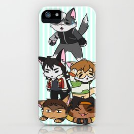 Forming Voltron: Are we doing this correctly? iPhone Case