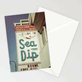 Sea Dip Stationery Cards