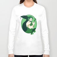 loki Long Sleeve T-shirts featuring Loki by Tess-Zombie