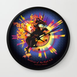 Dark Unicorn—Creature of the Dark Side Wall Clock