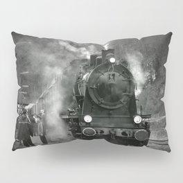 Steam Engine Pillow Sham