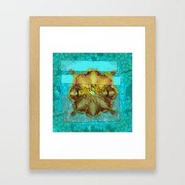 Embezzled Head Trip Flower  ID:16165-074104-06071 Framed Art Print