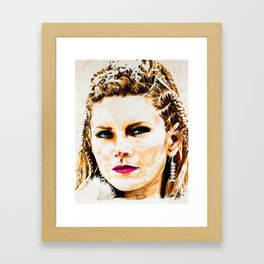 Lagertha Framed Art Print