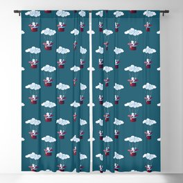 Traveler Cat Pattern Blackout Curtain