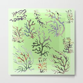 abstract sea Metal Print