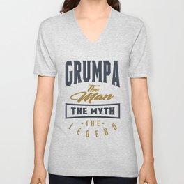 Gift for Grumpa Unisex V-Neck