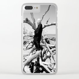 "VAMPLIFIED ""Vampire Beach"" Clear iPhone Case"