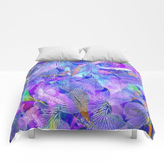 Hibiscus - pattern Comforters
